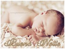 Buona notte - Bambino che dorme