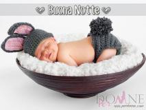 Buona notte - dolce bambino che dorme